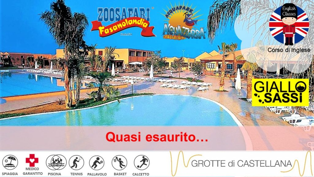 Puglia – Hotel Club Santa Sabina ***S – English Camp