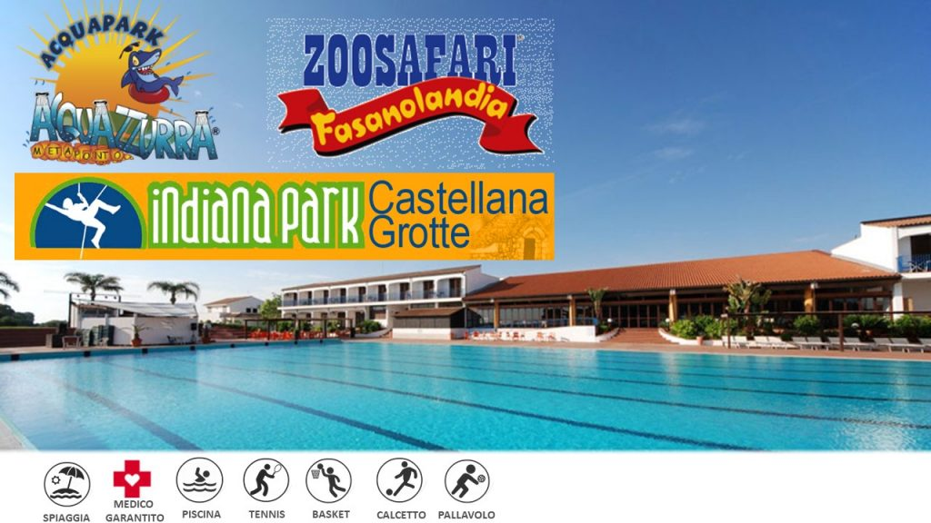 Puglia – Hotel Club Santa Sabina ***S – English Camp